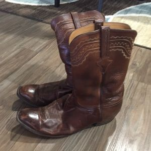 Firm price  Lucchese men's boots size 15